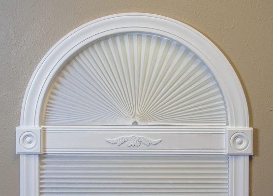 Original Arch Window Shades by Redi Shade | No Tools Install